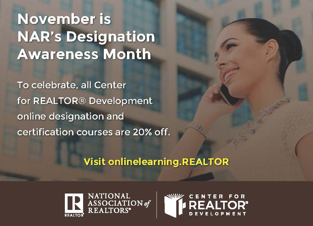 November Is Designation Awareness Month Naraltor