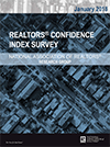 Cover of the January 2018 REALTORS® Confidence Index