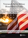Cover of the 2018 Veterans and Active Military Home Buyers and Sellers Profile