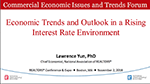 Cover of Lawrence Yun's November 2018 Economic Trends and Outlook in a Rising Interest Rate Environment presentation slides