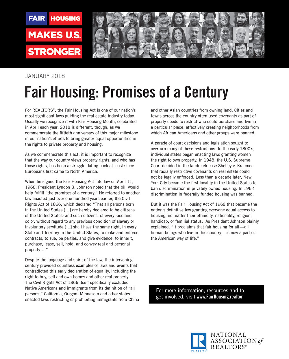Fair Housing: Promises of a Century