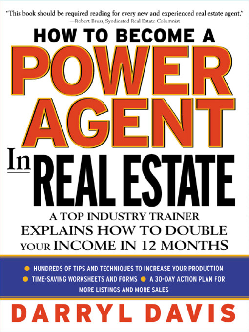 2018 How to Become a Power Agent in Real Estate