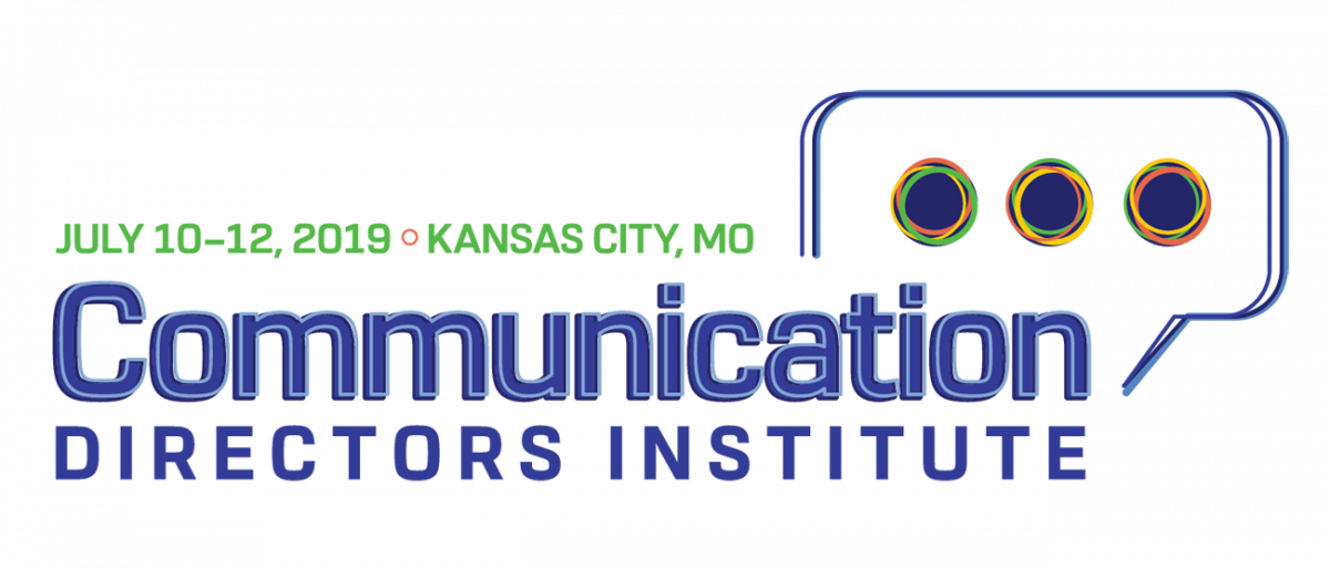 2019 Communication Directors Institute logo