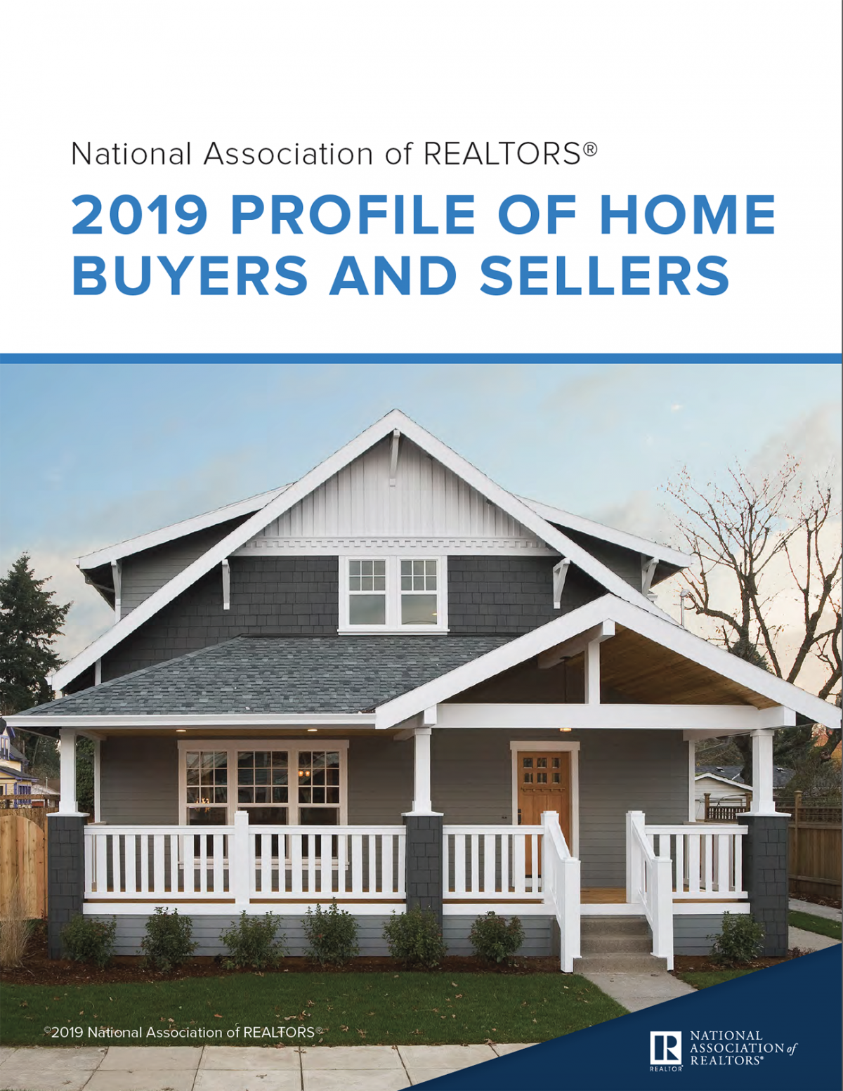Cover of the 2019 Profile of Home Buyers and Sellers