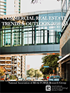 Cover of the Commercial Real Estate Market Trends and Outlook report