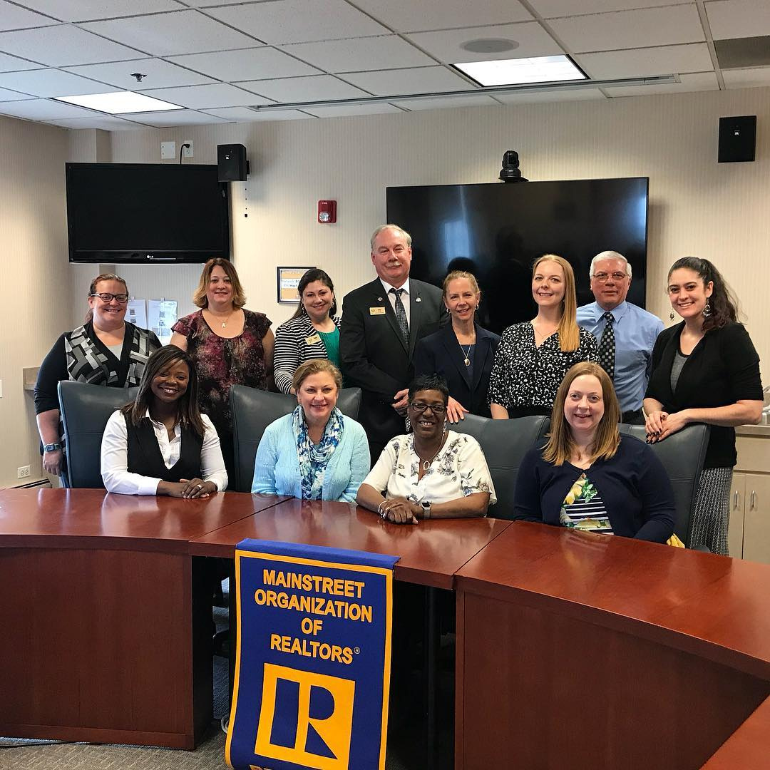 NAR Staff visit the Mainstreet Organization of REALTORS® in Downers Grove, IL.