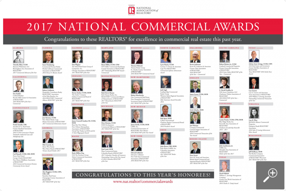 National Commercial Awards Winners - 2017