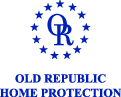 Old Republic Home Protection logo in blue lettering