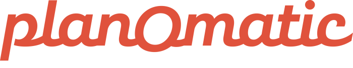 planomatic logo in red text