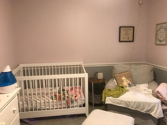 Videostaging Child Bedroom Before