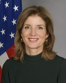 Headshot Caroline Kennedy, 2020 President's Circle Speaker
