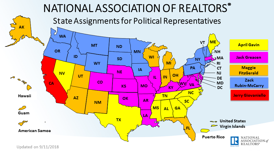 State Assignments by Political Representatives