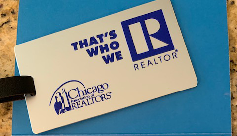 Chicago REALTORS® Luggage Tag