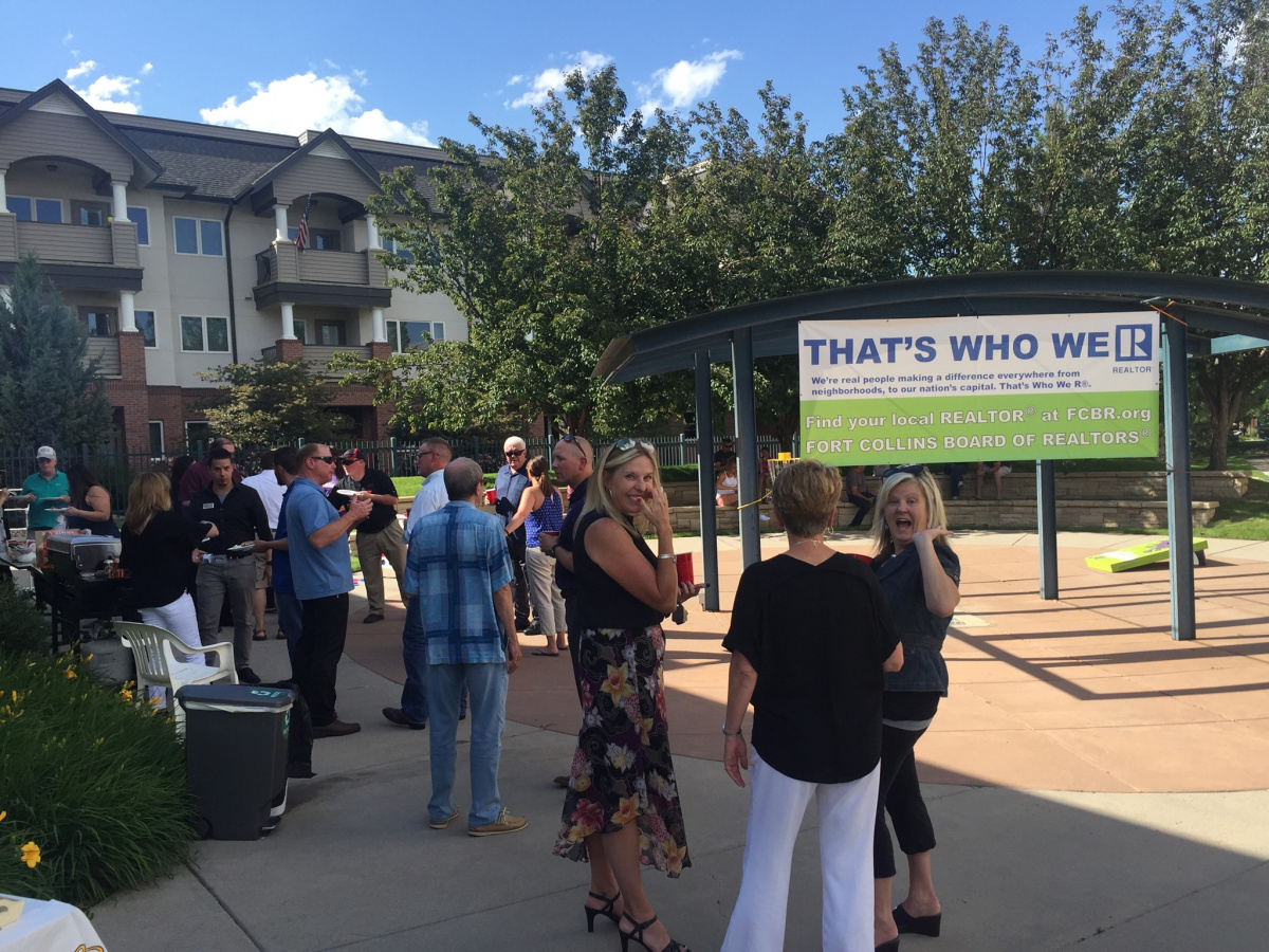 Yard Games With Fort Collins Board of REALTORS®