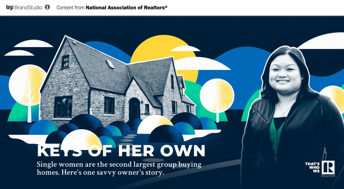 Keys of Her Own Washington Post Brand Studio
