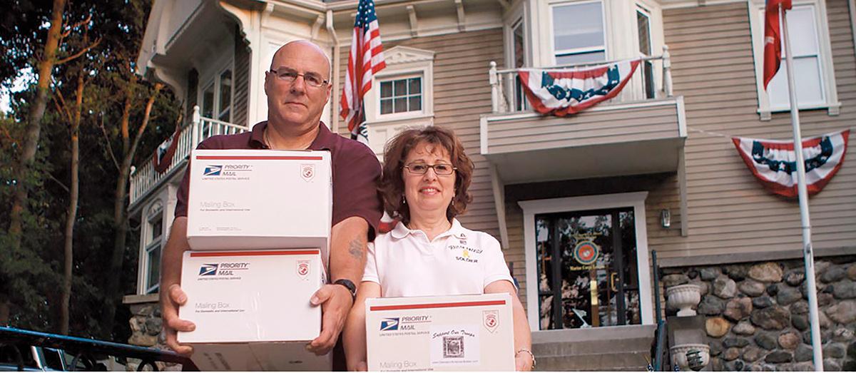 2010 Good Neighbor Winners John and Wendy Rocca