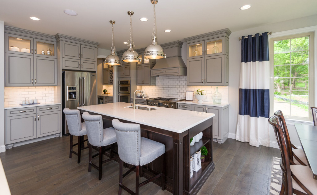 5 Kitchen Design Trends To Take From Model Homes Www Nar