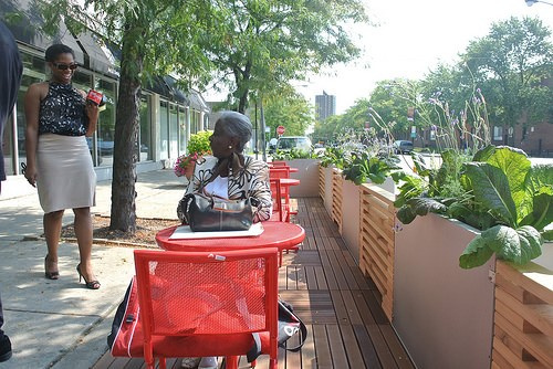 The Bronzeville (Chicago, IL) People Spot. Photo: CDOT