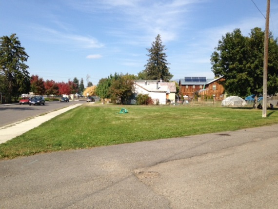 Site for future community garden supported by the Missoula Board of REALTORS®.