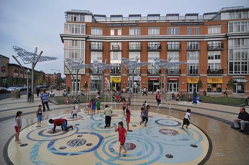 Columbia Heights (Washington, DC ) public plaza.