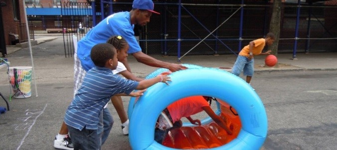 New City PlayStreets.  Photo Credit: NYC Dept. of Health and Mental Hygiene.