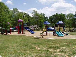 Playground in Druid Hills, NC