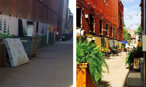 Before After Alley
