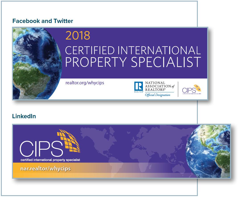 CIPS social media banners