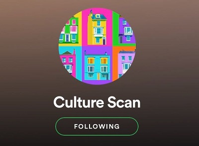 our culture scan spotify account logo