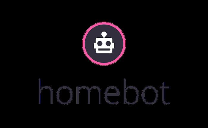 White Homebot Logo