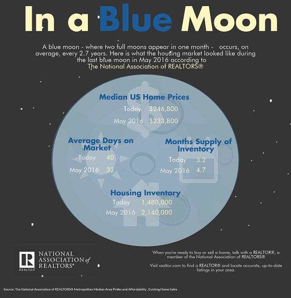 In a Blue Moon infographic