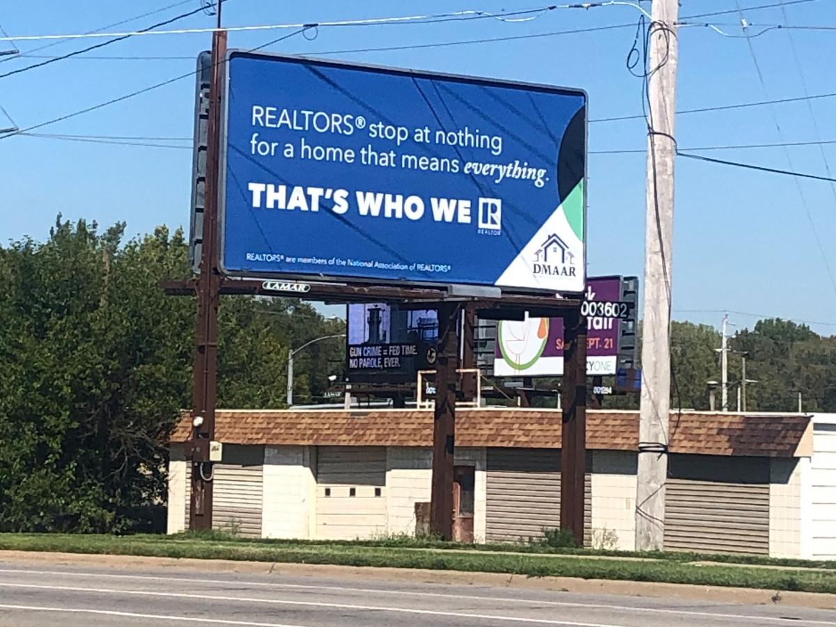 Iowa That's Who We R Billboard