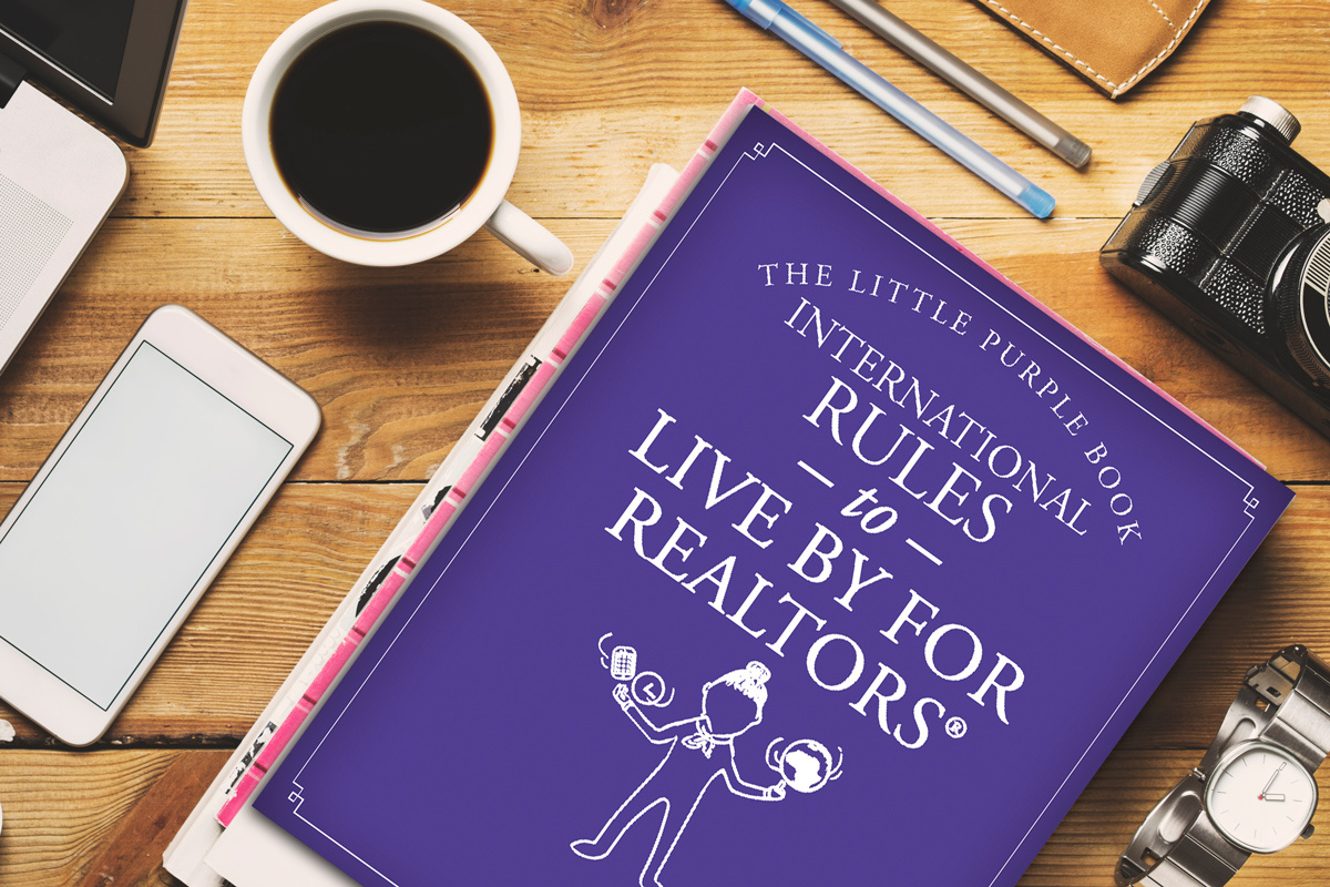 Little Purple Book - Rules to Live By International from the REALTOR® Store