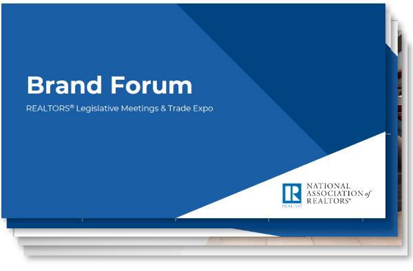 NAR Brand Forum Presentation Slides - deck