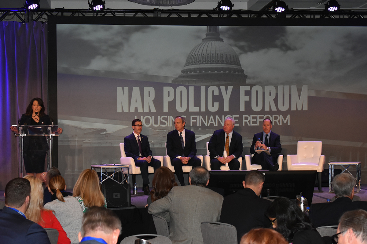 Panel at the NAR Policy Forum on Housing Finance Reform on February 2, 2019
