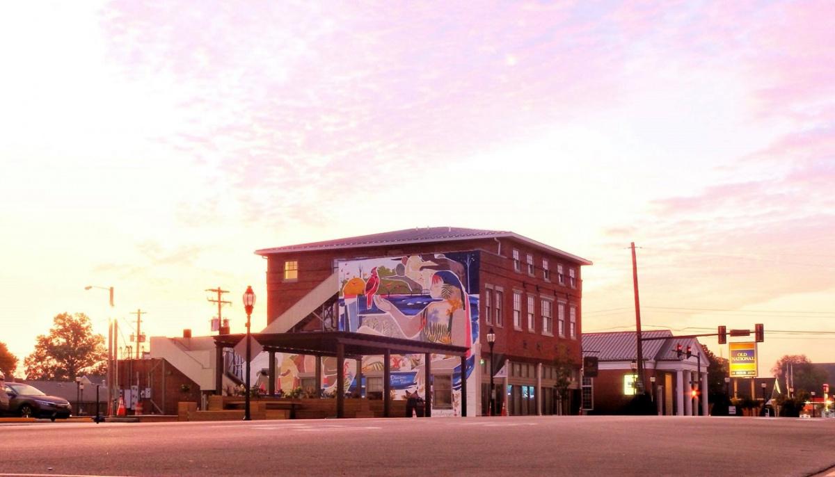 Sunrise at The Perch, Henderson, Kentucky