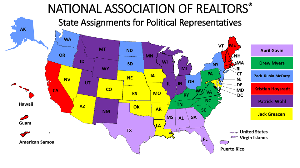 State Assignments for Political Representatives