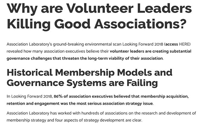 Why Are Volunteer Leaders Killing Good Associations Thumbnail