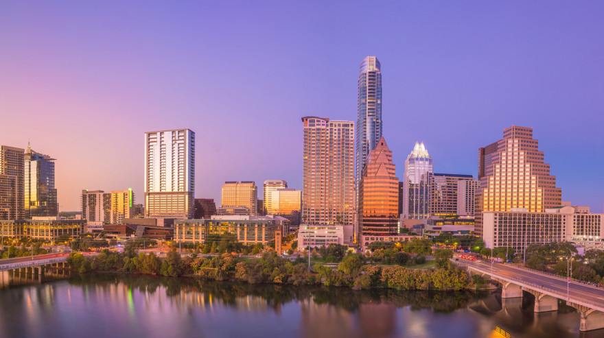 View of Austin skyline