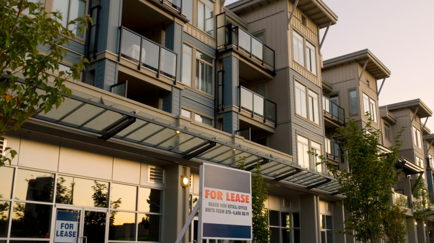 Condo and retail commercial investment property for lease