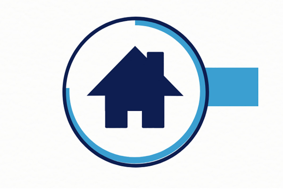 House icon in a circle