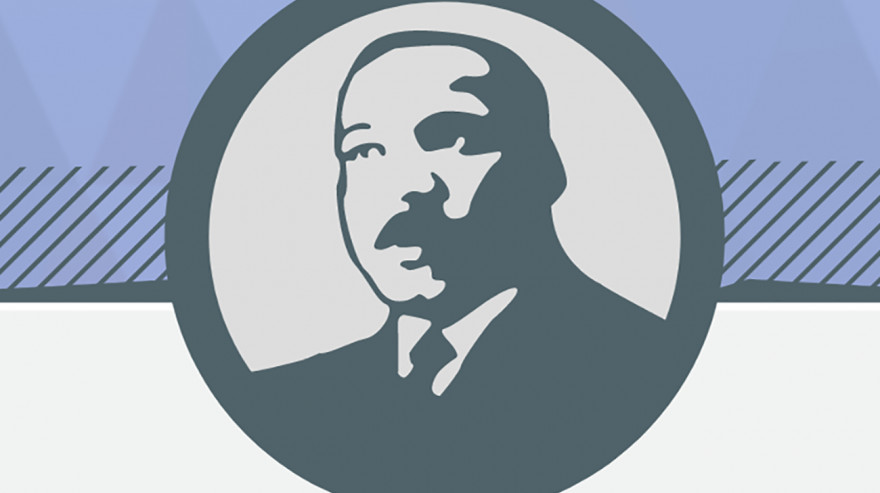 Martin Luther King, Jr graphic