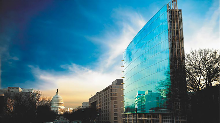 NAR DC building and U.S. Capitol building