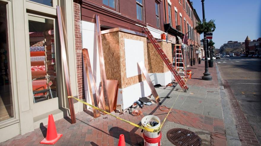 Storefront Construction - Neighborhood Revitalization
