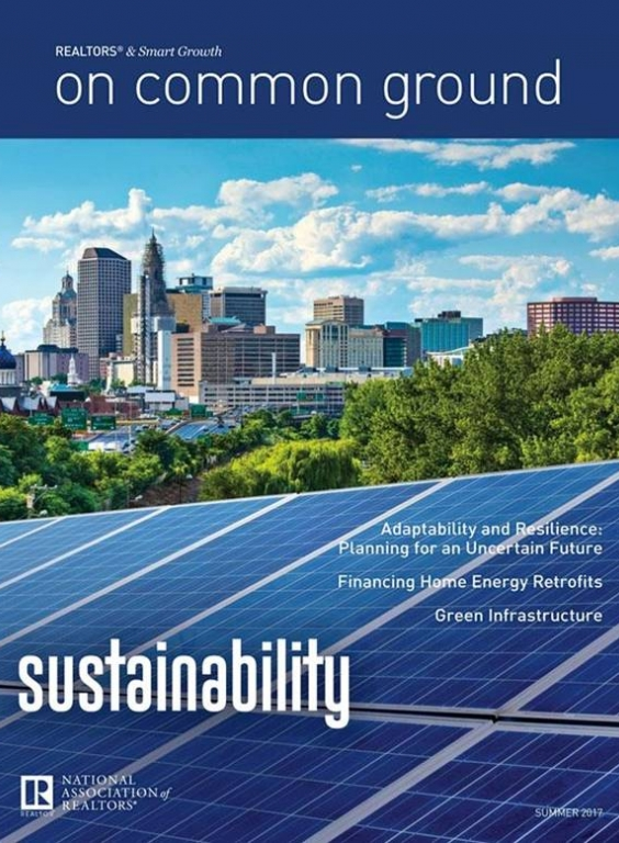 On Common Ground Summer 2017: Sustainability Issue Cover
