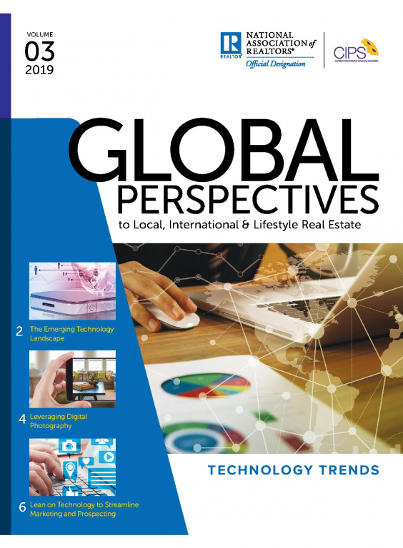 Cover of Global Perspectives Issue 03 2019: Technology Trends