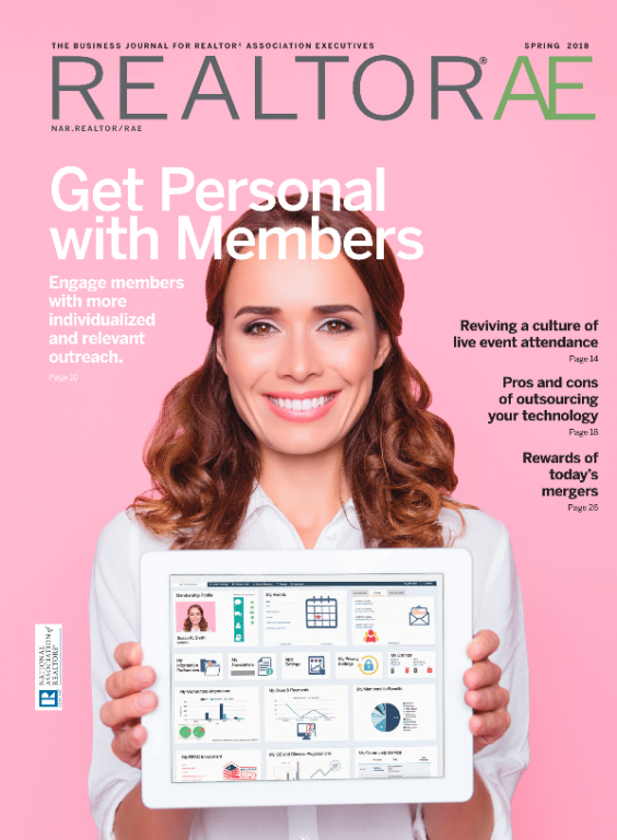 Cover of the Spring 2018 REALTOR® AE Magazine