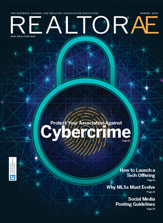 REALTOR AE Magazine Spring 2019 Cybercrime cover image