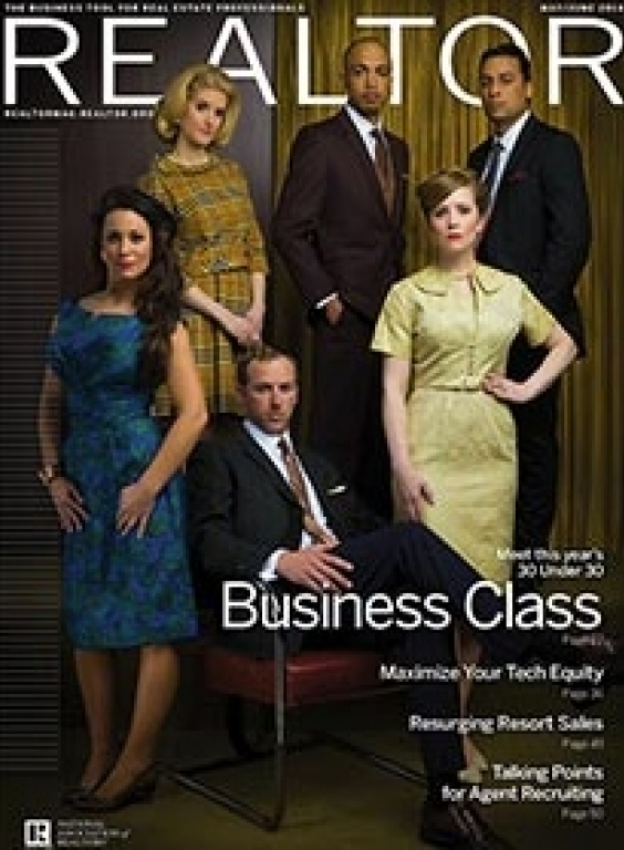 REALTOR® Magazine Cover, May-June 2014: Business Class