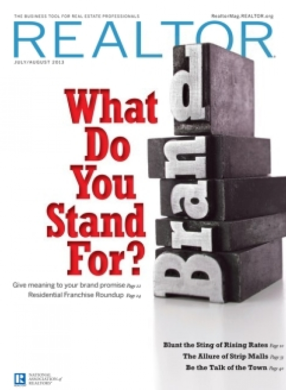 REALTOR® Magazine Cover, July/August 2013